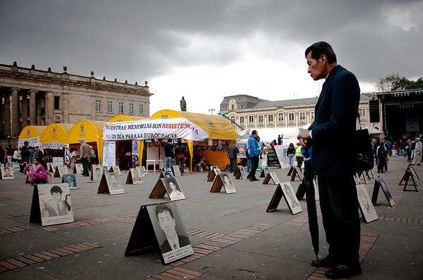 En julio de 2011, la Fiscalía General de la Nación ya tenía registrados más de 16.000 casos de desapariciones en Colombia.  Foto: Leonardo Villamizar