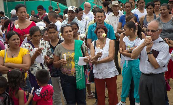 Los campesinos fueron llevados a una finca en el Departamento de Córdoba donde fueron recibidos por Fidel Castaño a fin de ser interrogados y torturados.   Foto: Alejandro González